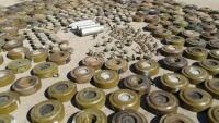 الحكومة تدعو لدعم دولي لمواجهة ألغام الحوثيين في اليمن