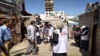 """أطباء بلا حدود: """"الجرب"""" بدأ ينتشر في أوساط النازحين باليمن"""