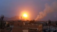 جماعة الحوثي تقول إن التحالف شن 17 غارة جوية على صنعاء