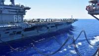 رسالة ردع لإيران.. البنتاغون يعلن تحريك حاملة طائرات وسفن حربية إلى الخليج