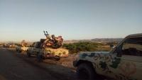 القوات الحكومية بأبين: ملتزمون بقرار وقف إطلاق النار وتحركنا ردا على خروقات الانتقالي