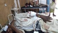 إصابة مدنيين اثنين بانفجار لغم زرعه الحوثيون في الدريهمي بالحديدة