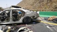 إب.. وفاة وإصابة 387 شخصاً بحوادث مرورية خلال 2020