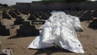 """الحوثيون يدفنون عشرات الجثث """"المجهولة"""" في الحديدة"""