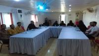 حضرموت.. نقابة الصحفيين اليمنيين تقيم دورة السلامة المهنية للصحفيين