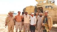 انفجارات جديدة بالقرب من مواقع القوات السعودية بأبين واحتجاجات للمطالبة بخروج اللجنة العسكرية
