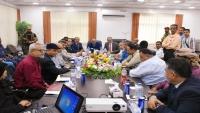 وزير النقل يشدد على ضرورة وضع خطط لجعل ميناء عدن منافساً للموانئ المجاورة