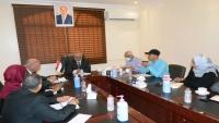 وزير المياه يبحث مع برنامج أممي إعادة مؤسسات المياه لوضعها السابق