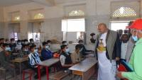 تعز.. إعادة ترميم 35 مدرسة متضررة جراء الحرب