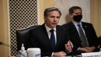 وزير الخارجية الأمريكي الجديد يوضح موقف إدارة بايدن من حملة السعودية في اليمن