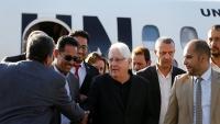 غريفيث يبحث مع مسؤول إيراني جهود حل الأزمة اليمنية