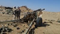 قصف تعزيزات للحوثيين في صرواح وكمين محكم يستهدف مجاميع في الجوف