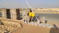 تدشين أعمال الرصف والتحسين بمنطقة الروضة بمدينة مأرب