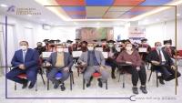 """""""مؤسسة توكل كرمان"""" تشارك حفل تخرج طلاب المجموعة الثانية """"دبلوم اللغة الإنجليزية المكثف"""""""