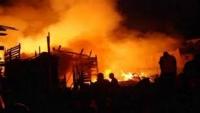 """""""الهجرة الدولية"""" تناشد للوصول الإنساني العاجل للمهاجرين الناجين من الحريق في مرفق الاحتجاز بصنعاء"""