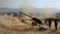 حجة.. الجيش الوطني يحرر عدة قرى ومناطق في مديرية عبس