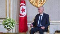 قيس سعيد يصل ليبيا في أول زيارة لرئيس تونسي منذ 9 سنوات