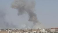جماعة الحوثي  تتهم التحالف بشن غارات جوية على صنعاء