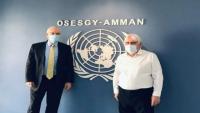 غريفيث وليندركينغ يصلان الرياض لبحث سبل حل أزمة اليمن