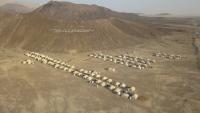 تقرير رسمي: نزوح نحو أربعة آلاف شخص جراء قصف الحوثيين المخيمات بمأرب