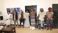 استئناف المهرة تفرج عن سبعة سجناء متهمين بقضايا غير جسيمة بمناسبة رمضان