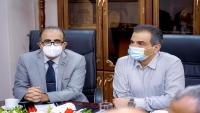 وزير الصحة ومحافظ عدن يؤكدان أهمية تضافر الجهود لمواجهة كورونا