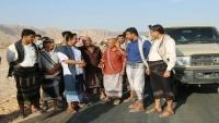 محافظ شبوة يفتتح مشروع طريق نوخان