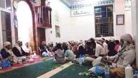 جماعة الحوثي تقتحم أحد المساجد في سنحان وتحوله إلى مقر لها