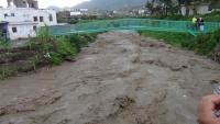 وفاة طفل وشقيقته جراء سيول الأمطار في ريف إب