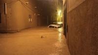 وفاة مواطن وتهدم ثلاثة منازل جراء السيول في مديرية تريم شرقي اليمن