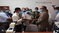 وزير الصحة يطلع على أنشطة البرنامج الوطني لمكافحة الملاريا بمحور حضرموت