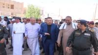 رئيس الوزراء معين عبد الملك يصل مدينة سيئون
