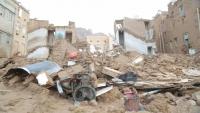 لجنة حكومية: 159 منزلا متضررا من السيول في سيئون