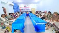 محافظ البيضاء يوجه بتشكيل لجنة فرعية في المحافظة للتعبئة وإسناد الجيش الوطني