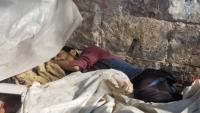 إب .. العثور على جثة شاب تحت أكوام القمامة بها عدة طعنات