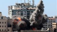 ماكرون يطالب إسرائيل بتفسير لاستهداف برج الجلاء ومطالب دولية بالتحقيق في الواقعة باعتبارها جريمة حرب