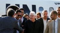 المبعوث الأممي إلى اليمن يصل صنعاء لبحث عملية السلام