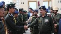 وزير الداخلية يطلع على التجهيزات الجارية في كلية الشرطة بحضرموت