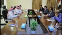 آل جابر يناقش مع وفد الحكومة اليمنية استكمال تنفيذ اتفاق الرياض