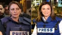 إصابة مراسلة الجزيرة نجوان سمري بشظايا قنبلة صوتية أطلقتها شرطة الاحتلال