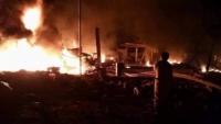 شبكة حقوقية: قصف الحوثيين للمدنيين بمأرب جريمة حرب ضد الإنسانية