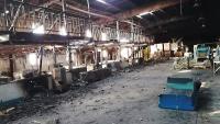 مقتل عامل وإصابة ثلاثة آخرين بقصف استهدف مجمعا صناعيا بالحديدة