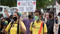 مسيرة في كندا تنديدا بمقتل عائلة مسلمة دهسا