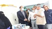 وزير الصحة يضع حجر الأساس لمشروعين صحيين في المهرة