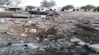 قصف صاروخي يستهدف اللواء 115 مشاة في أبين