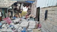الضالع.. قصف مدفعي حوثي يستهدف منازل المواطنين في قعطبة