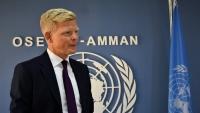 """""""غروندبرغ"""" يتعهد ببذل كل ما في وسعه لتحقيق السلام في اليمن"""