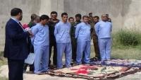 بحضور أولياء الدم.. تنفيذ حكم الإعدام بحق أربعة من قتلة عبد الله الأغبري في صنعاء