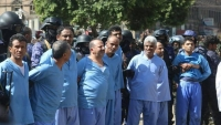 """شهود عيان يروون لـ""""الموقع بوست"""" لحظات ما قبل إعدام الحوثيين لتسعة مواطنين في صنعاء"""