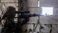 إصابة طفلة برصاص قناص حوثي غربي تعز